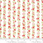 MODA FABRICS - Sunday Stroll by Bonnie and Camille - White Red