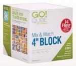 Accuquilt GO! 55229 Qube Mix & Match 4 inch Block