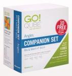 Accuquilt GO! 55231 Qube 4 inch Companion Set - Angles