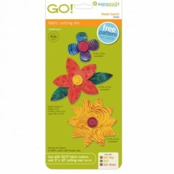 Accuquilt Die GO! 55332 Flower Bunch