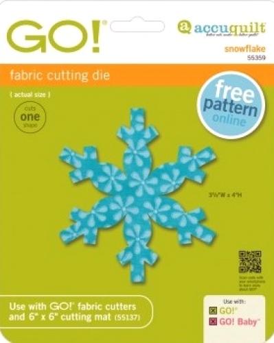 Accuquilt Die GO! 55359 Snowflake
