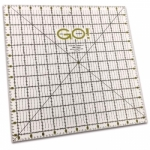 Accuquilt GO! 55475 Quilting Ruler 12.5 x 12.5