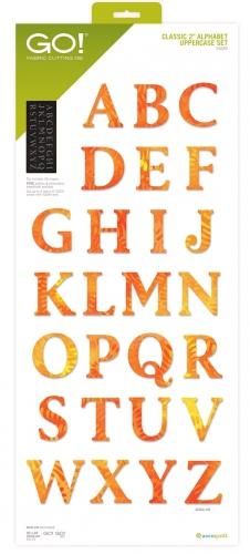 Accuquilt Die GO! 55559 2 in Alphabet Uppercase Set
