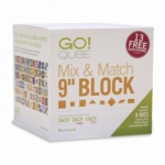AccuQuilt GO! Qube Mix & Match 9 in Block