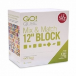 AccuQuilt GO! Qube Mix & Match 12 in Block