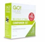 AccuQuilt GO! 55782 Qube 12 inch Companion Set - Classics