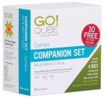 AccuQuilt GO! 55784 Qube 6 inch Companion Set - Corners