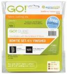 Accuquilt Die GO! 55795 Bowtie Set 4.5 Inch Finished (2 Die Set)
