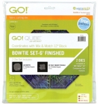 Accuquilt Die GO! 55796 Bowtie Set 6 Inch Finished (2 Die Set)
