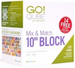 AccuQuilt GO! 55797 Qube Mix & Match 10 in Block