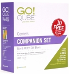 AccuQuilt GO! 55798 Qube 10 inch Companion Set - Corners