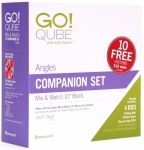 AccuQuilt GO! 55799 Qube 10 inch Companion Set - Angles