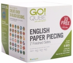 Accuquilt GO! 55825 Qube English Paper Piecing 1 Inch Finished Sides