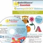 Embrilliance Esentials AccuQuilt GO! Edition