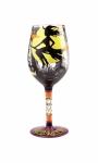 Designs by Lolita Wine Glass - Fab-Boo-Lous Halloween