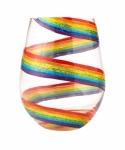 Designs by Lolita Stemless Wine Glass - Rainbow