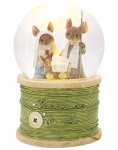 Peace On Earth Waterball - Tails with Heart by Enesco