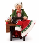 Mrs. Claus Sewing Figurine by Enesco