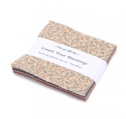 Count Your Blessings Charm Pack - Moda Precuts