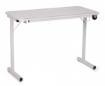 Arrow Gidget Folding Sewing and Craft Table II, Clean White - Drop Ship