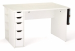 Arrow Ginger Sewing Cabinet - White Drop Ship