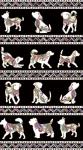BENARTEX - Dog On It - Dog Walk - Black/Multi - Metallic