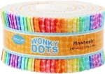 Patrick Lose Wonky Dots 2.5 inch Pinwheel
