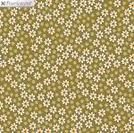 BENARTEX - Bonnie Lane - Apron Prints - Mustard - Pearlized