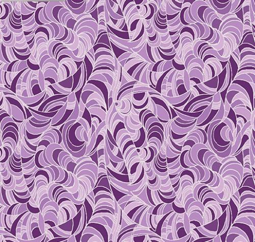 BENARTEX - Lilyanne - Ripple Purple - Pearlized