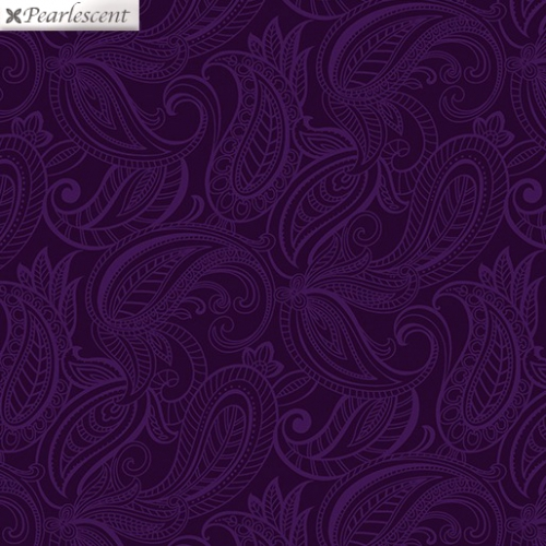 BENARTEX - Lilyanne - Pais Lily Tonal Purple - Pearlized