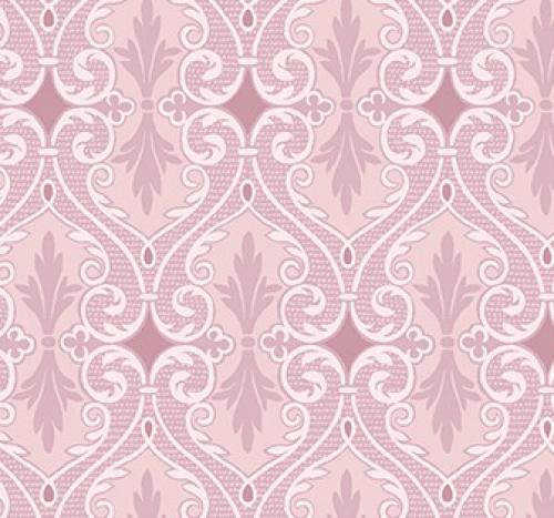BENARTEX - Totally Tulips - Jackie Robinson - Damask - Pink