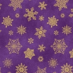 BENARTEX - Cat-i-tude Christmas - Playful Flakes Purple