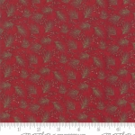 MODA FABRICS - Winter Manor - Pine Red