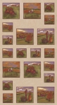 MODA FABRICS - Country Charm - Tan - PANEL - PL387-