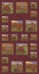 MODA FABRICS - Country Charm - Rustic Red - PANEL - PL386-