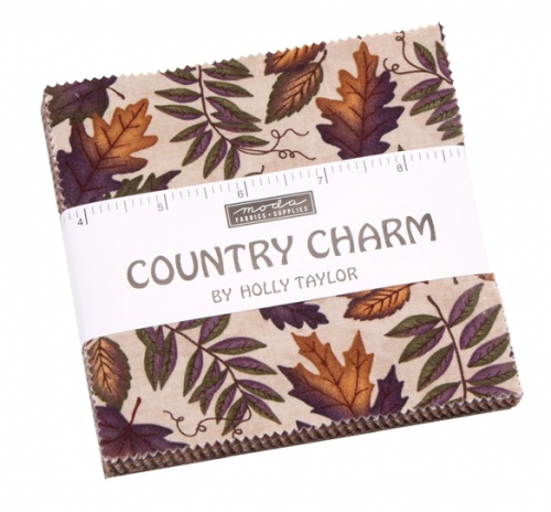 Country Charm Charm Pack by Holly Taylor Moda Precuts