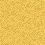 BENARTEX - Home Grown - Yellow Swirl - #1806-