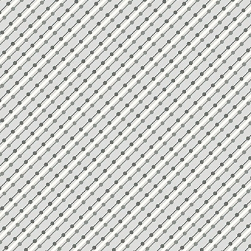 Skinny - SK1305- 1 1/4 yds - BENARTEX - Home Grown - Gray Stripe