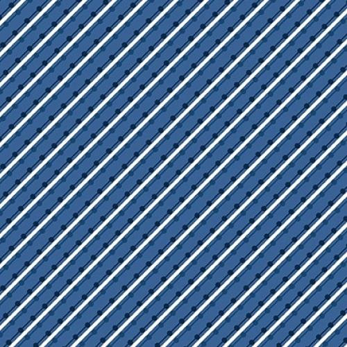 BENARTEX - Home Grown - Blue Stripe