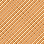 BENARTEX - Home Grown - Orange Stripe - #1794-
