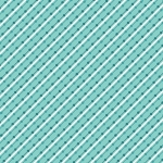 BENARTEX - Home Grown - Aqua Stripe - #1791-