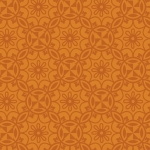 BENARTEX - Home Grown - Orange Medallion - #1782-