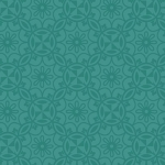 BENARTEX - Home Grown - Aqua Medallion - #1784-