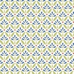 BENARTEX - Home Grown - Cream/Blue Floret - #1795-