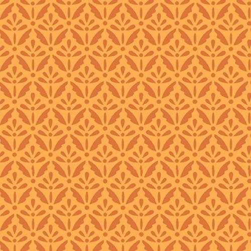 BENARTEX - Home Grown - Orange Floret - #1802-