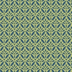 BENARTEX - Home Grown - Green/Blue Floret