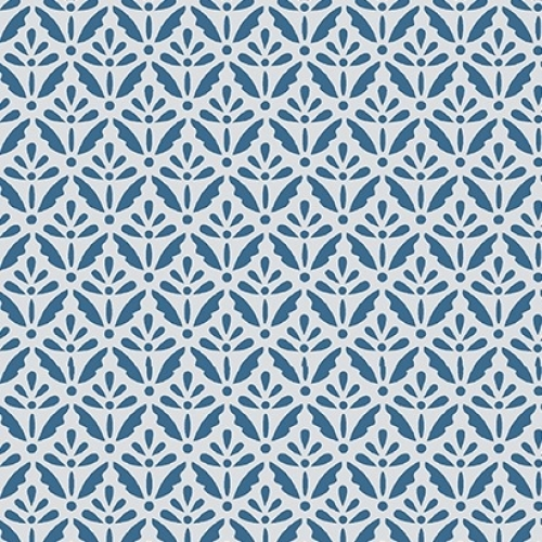 BENARTEX - Home Grown - Blue Floret - #1798-
