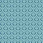 BENARTEX - Home Grown - Aqua Floret - #1797-