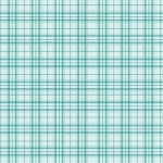 BENARTEX - Home Grown - Aqua Plaid - #1788-