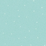 BENARTEX - Home Grown - Aqua Circle Dot